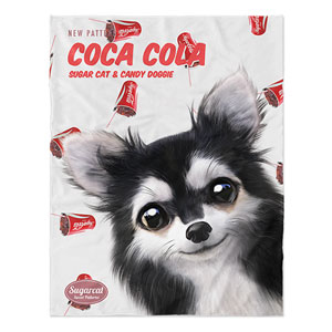 Cola's Cocacola New Patterns Soft Blanket