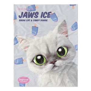 Delma's Jaws Ice New Patterns Soft Blanket