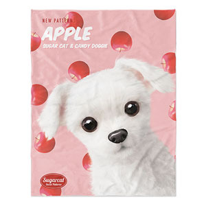 Dongdong's Apple New Patterns Soft Blanket