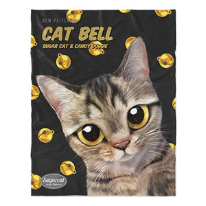 Dots's Cat Bell New Patterns Soft Blanket