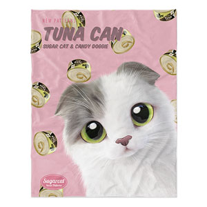 Duna's Tuna Can New Patterns Soft Blanket