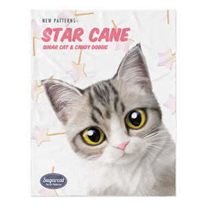 Gaomi's Star Cane New Patterns Soft Blanket