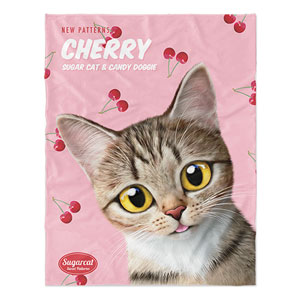 Gisele's Cherry New Patterns Soft Blanket