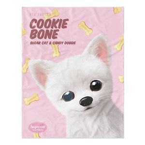Haebyeong's Cookie Bone New Patterns Soft Blanket