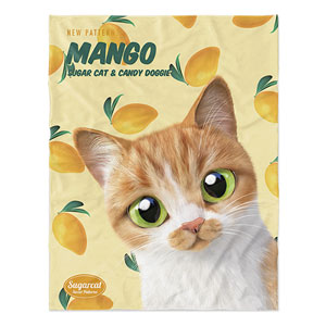 Mango's Mango New Patterns Soft Blanket