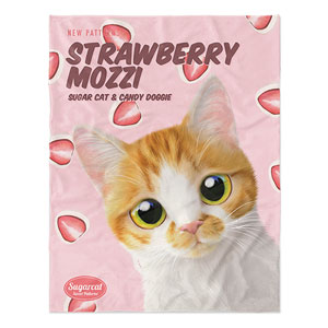 Mozzi Hana's Strawberry Mozzi New Patterns Soft Blanket