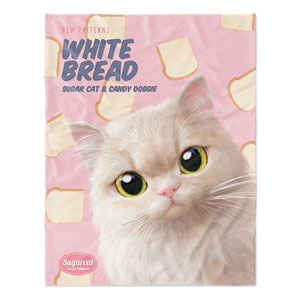 Nini's White Bread New Patterns Soft Blanket