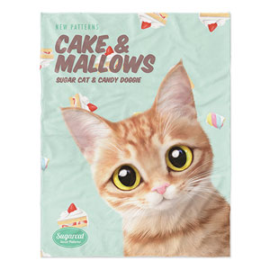 Ssol's Cake & Mallows New Patterns Soft Blanket