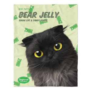 Tencho's Bear Jelly New Patterns Soft Blanket