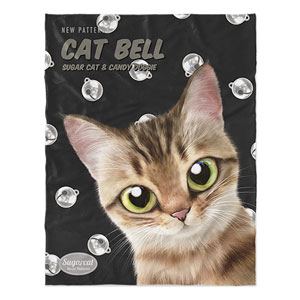 Wellbeing's Cat Bell New Patterns Soft Blanket