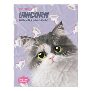 Zzing's Unicorn New Patterns Soft Blanket