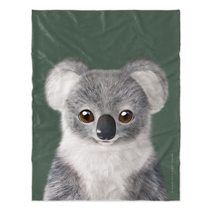 Coco the Koala Soft Blanket