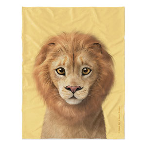 Lager the Lion Soft Blanket