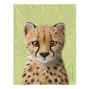 Samantha the Cheetah Soft Blanket