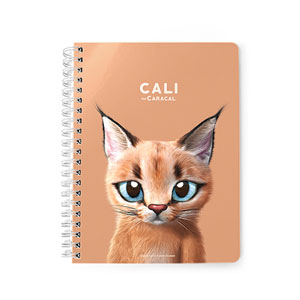 Cali the Caracal Spring Note