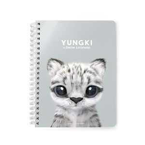 Yungki the Snow Leopard Spring Note