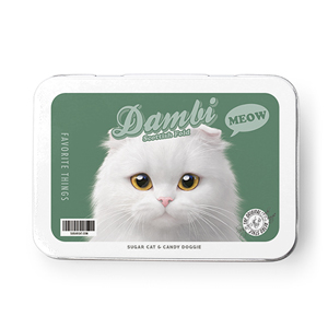 Dambi Retro Tin Case MINI