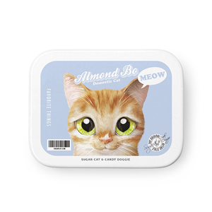 Almond Bongu Retro Tin Case MINIMINI