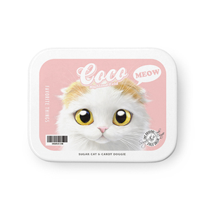 Coco the Highland Fold Retro Tin Case MINIMINI