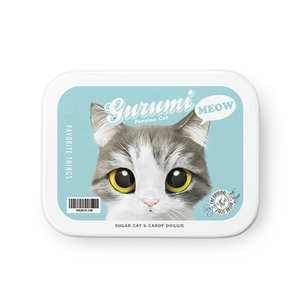Gurumi Retro Tin Case MINIMINI
