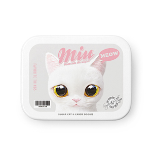 Miu Retro Tin Case MINIMINI