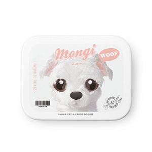Mongi the Maltese Retro Tin Case MINIMINI