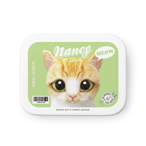 Nancy the kitten Retro Tin Case MINIMINI