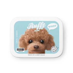 Ruffy the Poodle Retro Tin Case MINIMINI