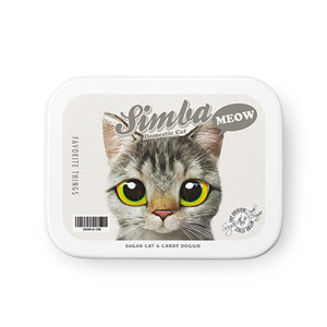Simba Retro Tin Case MINIMINI