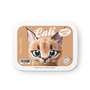 Cali the Caracal Retro Tin Case MINIMINI
