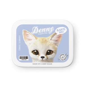 Denny the Fennec fox Retro Tin Case MINIMINI