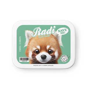 Radi the Lesser Panda Retro Tin Case MINIMINI