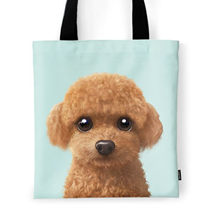 Hodoo the Poodle Tote Bag