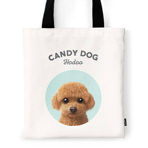 Hodoo the Poodle Ivory Tote Bag