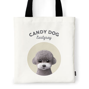 Earlgray the Poodle Ivory Tote Bag