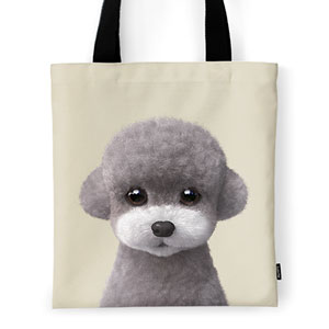 Earlgray the Poodle Tote Bag