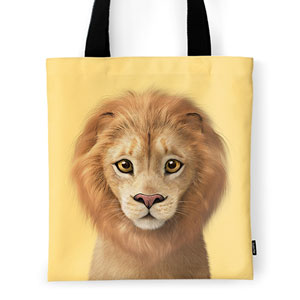 Lager the Lion Tote Bag