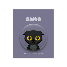 Gimo Character Pin Button