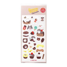 [Snooze Kittens] Chocolate Seal Sticker