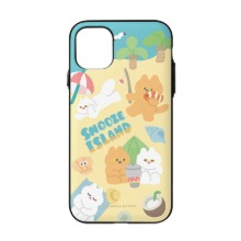 [Snooze Kittens] Snooze Island Sand Yellow Door Bumper Case