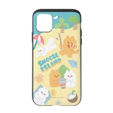 [Snooze Kittens] Snooze Island Sand Yellow Slide Case
