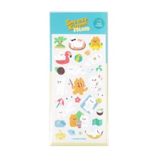 [Snooze Kittens] Snooze Island Seal Sticker