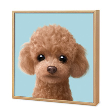 Ruffy the Poodle Artframe