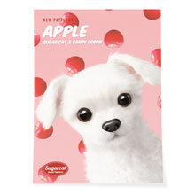 Dongdong's Apple New Patterns Art Poster