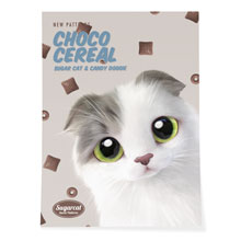 Duna's Choco Cereal New Patterns Art Poster