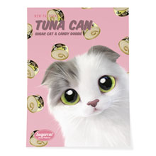 Duna's Tuna Can New Patterns Art Poster