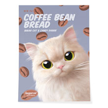 Nini's Coffee Bean Bread New Patterns Art Poster