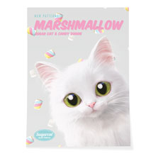 Ria's Marshmallow New Patterns Art Poster
