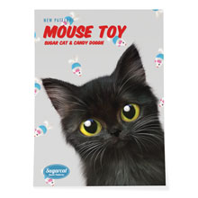 Ruru's Mouse Toy New Patterns Art Poster