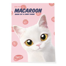 Santo's Macaroon New Patterns Art Poster